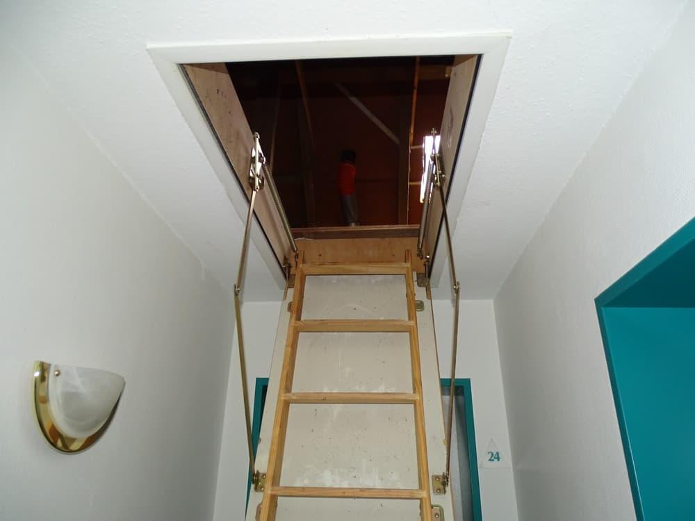 Treppe Dach